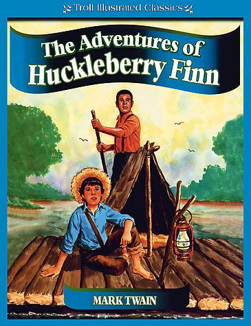 Adventures of Huckleberry Finn is a novel by Mark Twain, first published in the United Kingdom in December 1884 and in the United States in February 1885